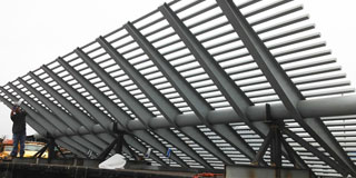 Large Metallized Structure